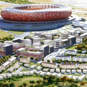 FNB Stadium Precinct - Smith Archtiects